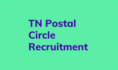 TN Postal Circle Recruitment