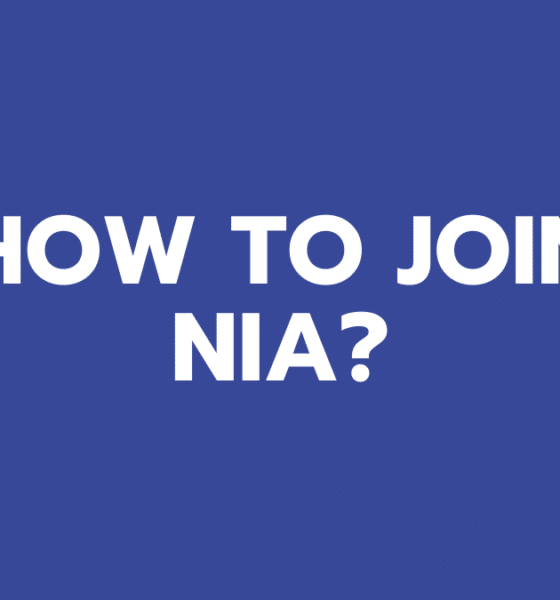 How to Join NIA